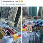 viral jemura baju tkw Hong Kong yang diunggah oleh majikannya