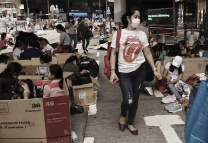 uphold live-in rule for Hong Kong domestic helper