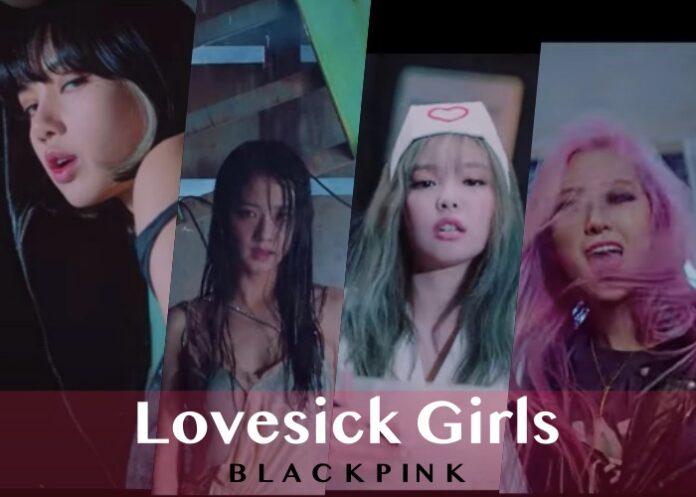 lirik lovesick girl - blackpink