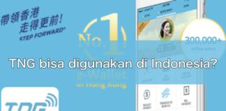 Bisakah TNG Wallet digunakan di Indonesia ?