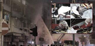 kebakaran di Yau Ma tei, 7 orang Tewas