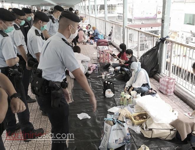 Hukuman Bagi Yang Melanggar Aturan dengan Tidak Memakai Masker dan Berkumpul Lebih dari Dua Orang dinaikkan dari HK $2000 Menjadi HK $10,000
