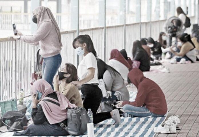 Setidaknya Hampir 100 Fixed Pinalty Telah dilayangkan Pemerintah Bagi Buruh Migran di Hong Kong Yang Melanggar Perintah Larangan Berkumpul dan Tidak Mengenakan Masker