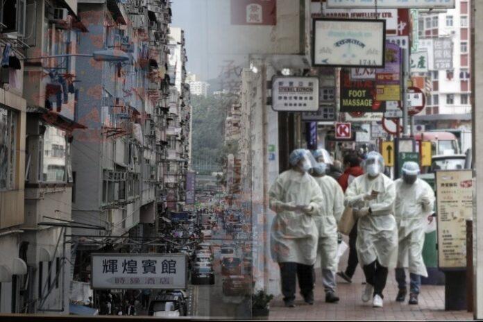 Wabah Virus Corona Memburuk di Daerah Ya Tsim Mong, Pemerintah Hong Kong Berencana Akan LOCKDOWN Puluhan Ribu Penduduknya Hong kong lockdown