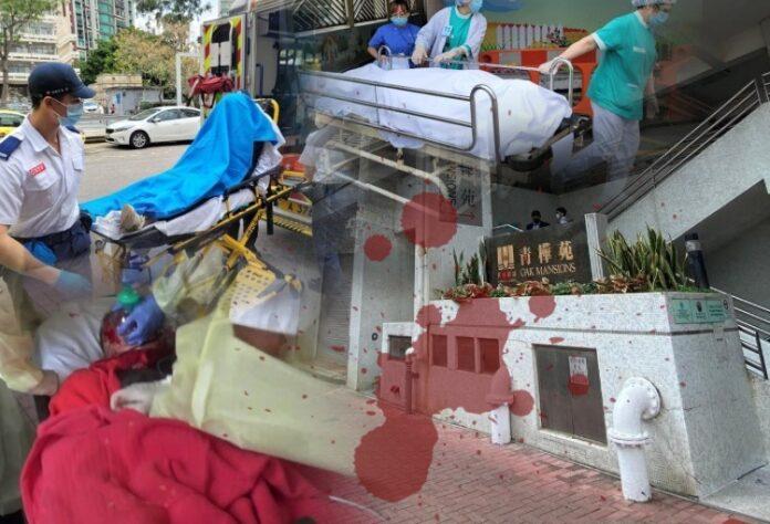 Tragedi Berdarah di Whampoa Garden, 2 Anaknya Terluka dan Pasangan Suami Istri Meninggal Berlumuran Darah Dengan Luka Sayatan Pisau di Leher