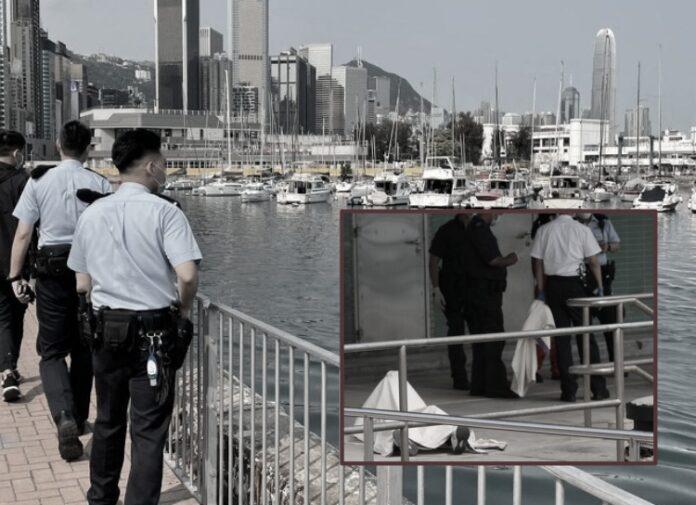 mayat ditemukan di Causeway bay